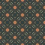 Seamless geometriska mönstrar med pilar, spjut, Arkivbild