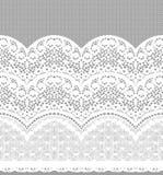Den Seamless vektorsvarten snör åt Arkivbilder