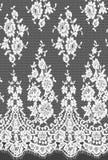 Den Seamless vektorsvarten snör åt Royaltyfria Bilder