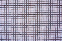Den Seamless vita fyrkanten tiles textur Vit abstrakt bakgrund f?r mosaiska tegelplattor royaltyfria foton