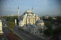 Den Sehzade moskén i Istanbul, Turkiet Royaltyfri Foto
