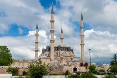 Den Selimiye moskén i Edirne, Turkiet Arkivbild