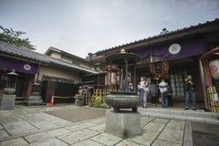 Den Senso-ji templet i Asakusa, Tokyo, Japan Ordet betyder Kob royaltyfria foton