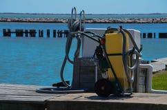 Den septiska pumpen ut posterar Arkivbild