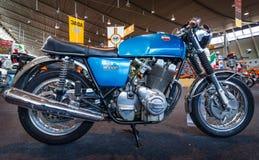 Den seriella modellmotorcykeln Laverda 1000/1, 1972 Arkivbild