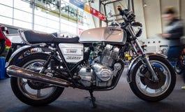 Den seriella modellmotorcykeln Laverda 1200 Hägring, 1979 Royaltyfri Bild