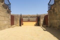 Den Sevilla tjurfäktningsarenan Royaltyfria Bilder