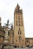 Den Seville domkyrkan royaltyfria bilder