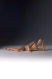 Den sexiga skyltdockan poserar Arkivbilder