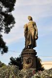 Den Shakuntale statyn på Sakuntala parkerar i Osijek, Kroatien Arkivfoton