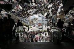 Den SHEL'TTER TOKYO's ingången royaltyfri fotografi