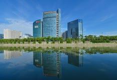 Den Shenzhen high tech parkerar Fotografering för Bildbyråer