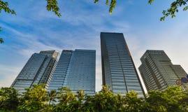 Den Shenzhen high tech parkerar Arkivbilder