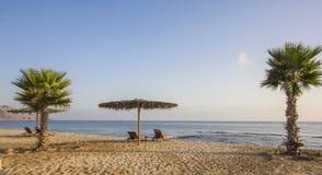 Den sifawy stranden för boutiquehotell Arkivfoto