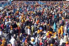 Den sikh- Khalsa dagen ståtar Royaltyfri Foto
