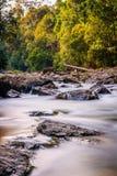 Den silkeslena Sungaien Selai Royaltyfria Bilder