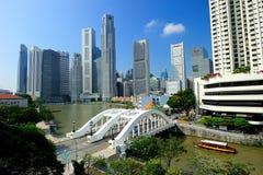 Den Singapore floden Arkivfoto
