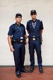 Den Singapore polisen Fotografering för Bildbyråer