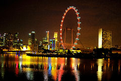 Den Singapore reklambladet Royaltyfri Fotografi
