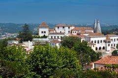 Den Sintra Nationalslotten Royaltyfri Bild