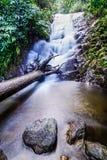 Den Siribhume vattenfallet, den Inthanon nationen parkerar, Chiang Mai, Thailand Arkivbilder