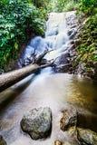 Den Siribhume vattenfallet, den Inthanon nationen parkerar, Chiang Mai, Thailand Arkivfoto