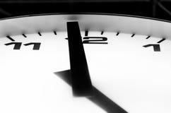 Den sista minuten till fem klockan Arkivfoton
