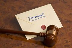 den sista testamentet skallr Arkivbilder