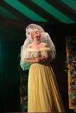den sjätte gången på området av stuterit av den Hucul ponnyn Gladyszow i Regietowie ägde rum feriemötet med operan Arkivbilder