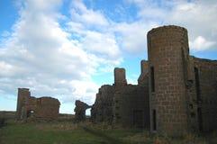 Den Slains slotten fördärvar, Aberdeenshire Royaltyfri Foto