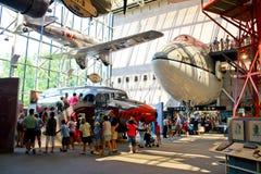 Den Smithsonian medborgare luftar och görar mellanslag museet Arkivfoto