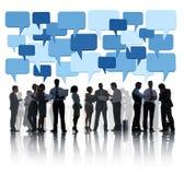 Den sociala frågan för affär Arkivbild