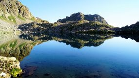 Den Sofia bergsjön Arkivfoto