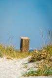 Den soliga stranden Kinburn spottar Royaltyfri Fotografi