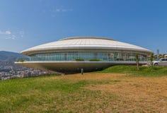 Den sovjetiska arkitekturen av Tbilis royaltyfri foto