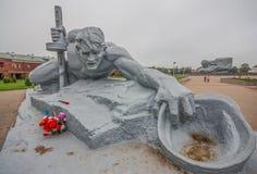 Den sovjetiska stilen Brest, Vitryssland arkivfoto