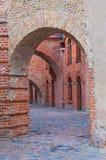Den Spandau citadellen Arkivfoto