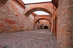 Den Spandau citadellen royaltyfri foto