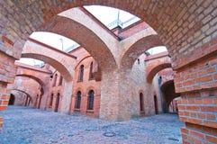 Den Spandau citadellen arkivfoton