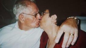 Den speciala kyss Royaltyfria Foton