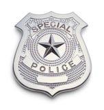 Den speciala polisen förser med märke arkivbilder