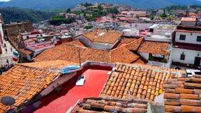 Den spektakulära sikten i Taxco Guerrero arkivfoton