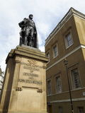 Den spencercompton statyn i london Arkivfoto