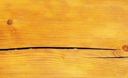 den spruckna plankan red ut trä Arkivfoto