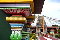 Den Sri Siva Subramaniya Hindu templet i Nadi, Fiji Royaltyfria Bilder