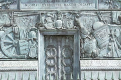 Den ställeVendome kolonnen Royaltyfria Foton