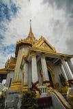 Den största Buddha som göras av guld, wittayaram för Wat traimit, bangkok, Thailand arkivfoton