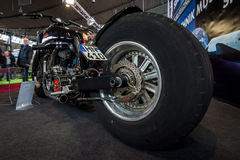 Den största rinnande motorcykeln Leonhardt Gunbus 410 för världs` s Royaltyfria Foton