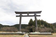 Den största Toriien av Japan Arkivbilder