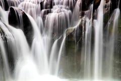 Den största vattenfallet i Taipei, Taiwan Arkivbilder